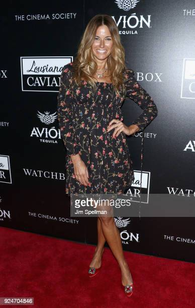 Actor Kelly Killoren Bensimon attends the screening of Louisiana Caviar hosted by The Cinema Society with Avion and Watchbox at iPic Cinema on...