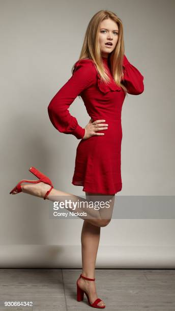 Actor Kelly Lamor Wilson of the film Summer '03 poses for a portrait in the Getty Images Portrait Studio Powered by Pizza Hut at the 2018 SXSW Film...