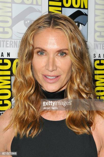 Actor Kelly Lynch at ATT AUDIENCE Network's New Stephen King Series Mr Mercedes Press Line at Hilton Bayfront on July 23 2017 in San Diego California