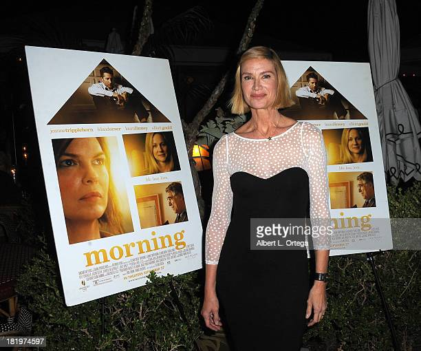Actor Kelly Lynch attends C Magazine Dinner And Reception Celebrating Leland Orser's Morning held at Chateau Marmont on September 26 2013 in West...