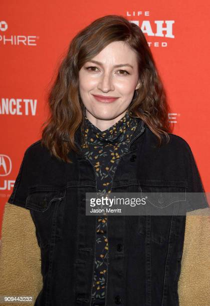 Actor Kelly Macdonald attends the Puzzle Premiere at Eccles Center Theatre during the 2018 Sundance Film Festival on January 23 2018 in Park City Utah