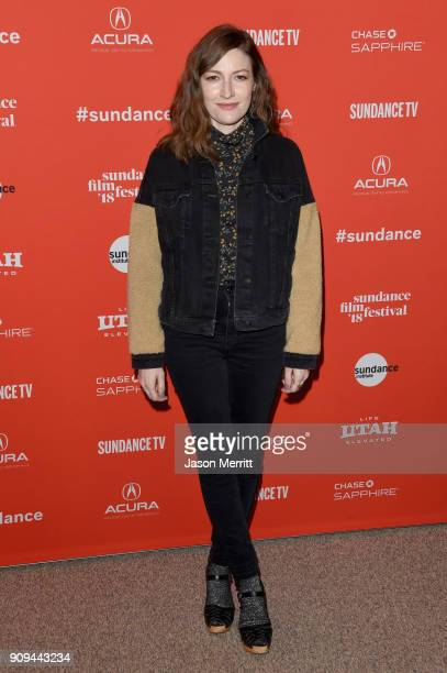 Actor Kelly Macdonald attends the 'Puzzle' Premiere at Eccles Center Theatre during the 2018 Sundance Film Festival on January 23 2018 in Park City...