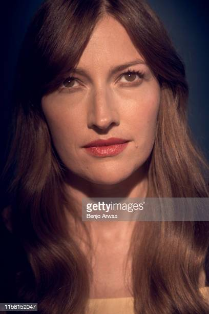 Actor Kelly Macdonald of BritBox's 'The Victim' poses for a portrait during the 2019 Summer TCA Portrait Studio at The Beverly Hilton Hotel on July...