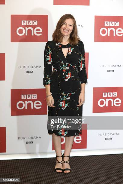 Actor Kelly Macdonald poses for a photo ahead of a preview screening of 'The Child In Time' at BAFTA on September 18 2017 in London England