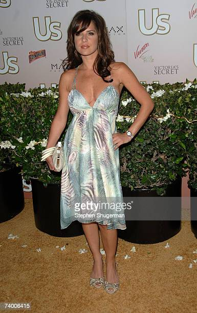 Actor Kelly Monaco attends the Us Hollywood 2007 Party at Sugar on April 26 2007 in Hollywood California