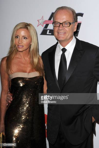 Actor Kelsey Grammer and Camille Grammer arrive at the 52nd Annual GRAMMY Awards - Salute To Icons Honoring Doug Morris held at The Beverly Hilton...