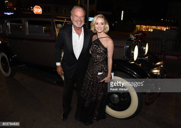 """Actor Kelsey Grammer and his daughter Greer Grammer arrive at the after party for the premiere of Amazon Studios' """"The Last Tycoon"""" at the Chateau..."""