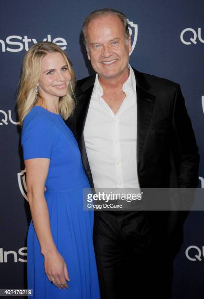 Actor Kelsey Grammer and Kayte Walsh arrive at the 2014 InStyle And Warner Bros 71st Annual Golden Globe Awards postparty at The Beverly Hilton Hotel...