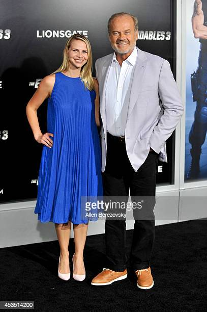 Actor Kelsey Grammer and Kayte Walsh arrive at the Los Angeles premiere of Lionsgate Films' The Expendables 3 at TCL Chinese Theatre on August 11...