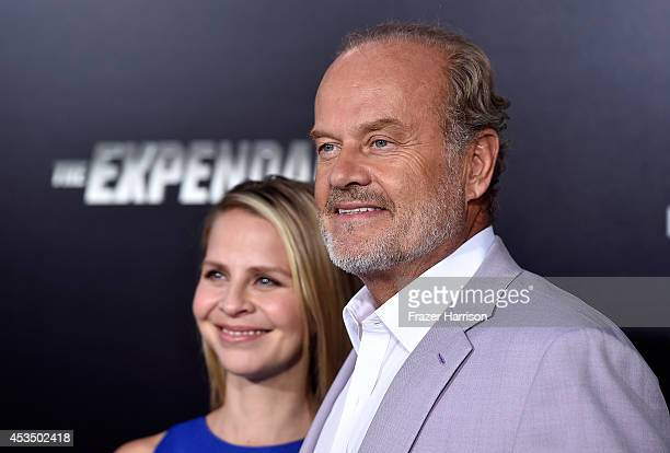 Actor Kelsey Grammer and Kayte Walsh arrive at the Premiere Of Lionsgate Films' 'The Expendables 3' at TCL Chinese Theatre on August 11 2014 in...