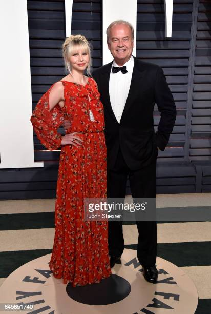 Actor Kelsey Grammer and Kayte Walsh attend the 2017 Vanity Fair Oscar Party hosted by Graydon Carter at Wallis Annenberg Center for the Performing...