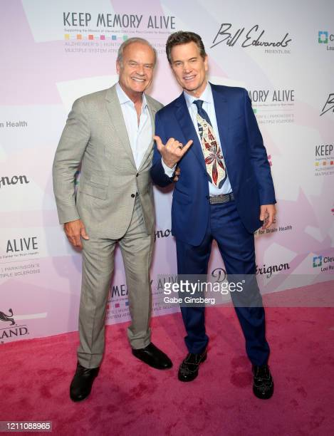 Actor Kelsey Grammer and recording artist Chris Isaak attend the 24th annual Keep Memory Alive Power of Love Gala benefit for the Cleveland Clinic...