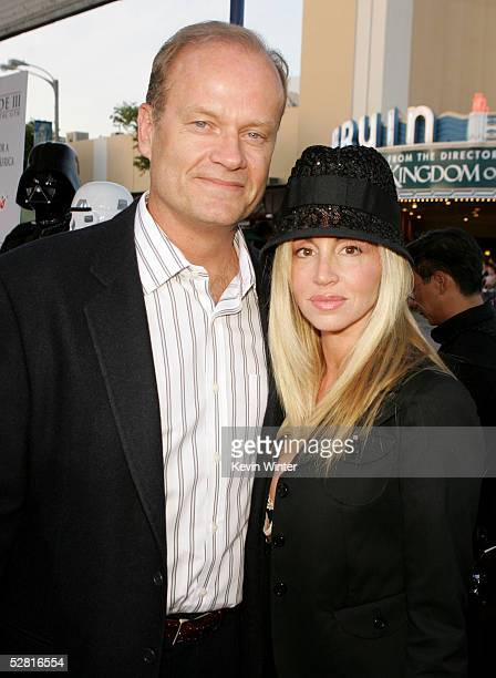"""Actor Kelsey Grammer and wife Camille arrive at the """"Star Wars Episode III - Revenge Of The Sith"""" Los Angeles Premiere at the Mann Village Theatre on..."""