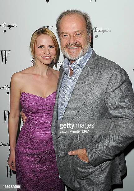 Actor Kelsey Grammer and wife Kayte Walsh arrive at the W Magazine Best Performances Issue and The Golden Globes celebration hosted by Dom Perignon...