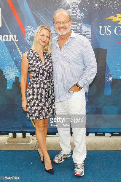 Actor Kelsey Grammer and wife Kayte Walsh attend Day Seven of the 2013 US Open at the USTA Billie Jean King National Tennis Center on September 1...