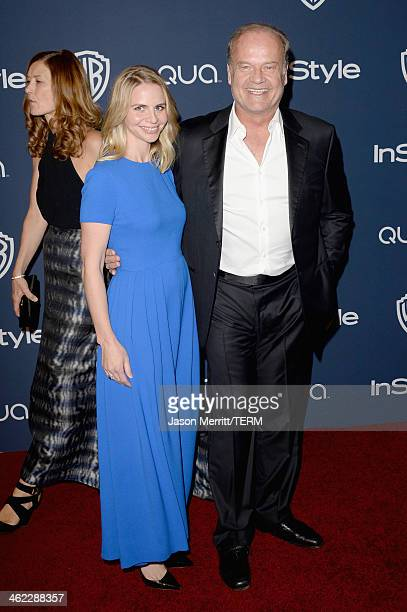 Actor Kelsey Grammer and wife Kayte Walsh attend the 2014 InStyle and Warner Bros 71st Annual Golden Globe Awards PostParty on January 12 2014 in...