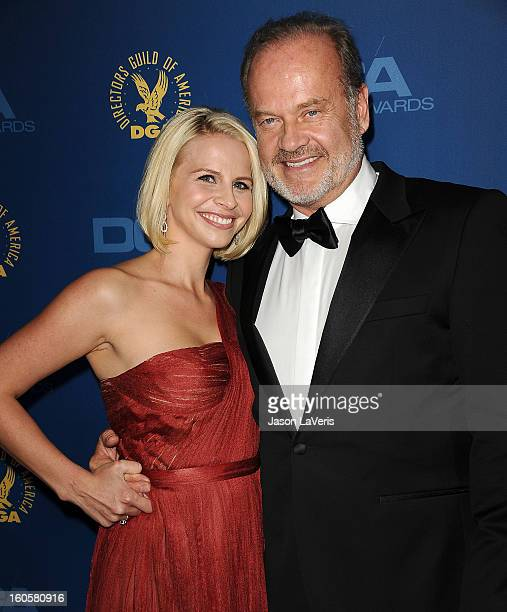 Actor Kelsey Grammer and wife Kayte Walsh attend the 65th annual Directors Guild Of America Awards at The Ray Dolby Ballroom at Hollywood Highland...