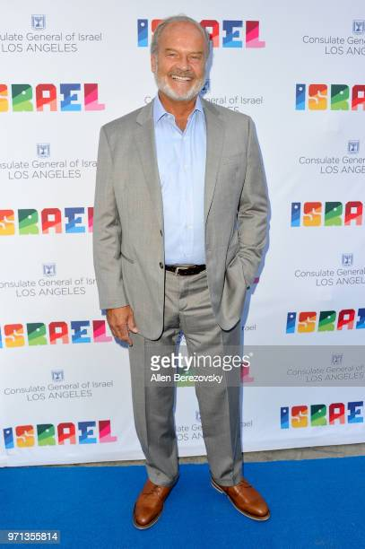 Actor Kelsey Grammer attends a private celebration of The 70th Anniversary of Israel hosted by the Consul General of Israel Los Angeles Sam Grundwerg...
