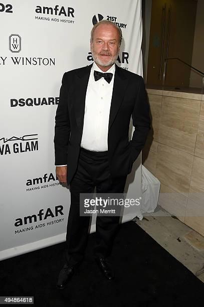 Actor Kelsey Grammer attends amfAR's Inspiration Gala Los Angeles at Milk Studios on October 29 2015 in Hollywood California