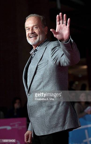 Actor Kelsey Grammer attends 'Boss' premiere during the 2012 RomaFictionFest at Auditorium Parco della Musica on October 3 2012 in Rome Italy