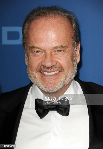Actor Kelsey Grammer attends the 65th annual Directors Guild Of America Awards at The Ray Dolby Ballroom at Hollywood Highland Center on February 2...