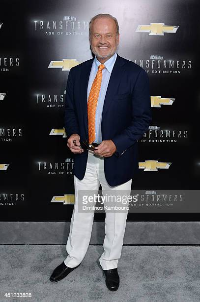 Actor Kelsey Grammer attends the New York Premiere of Transformers Age Of Extinction at the Ziegfeld Theatre on June 25 2014 in New York City