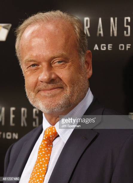 Actor Kelsey Grammer attends the Transformers Age Of Extinction New York Premiere at the Ziegfeld Theater on June 25 2014 in New York City