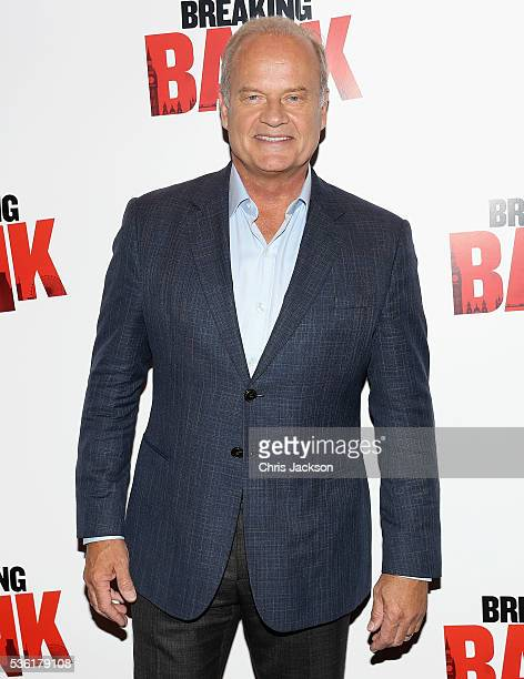 Actor Kelsey Grammer attends the UK Gala Screening of 'Breaking the Bank' at Empire Leicester Square on May 31 2016 in London England