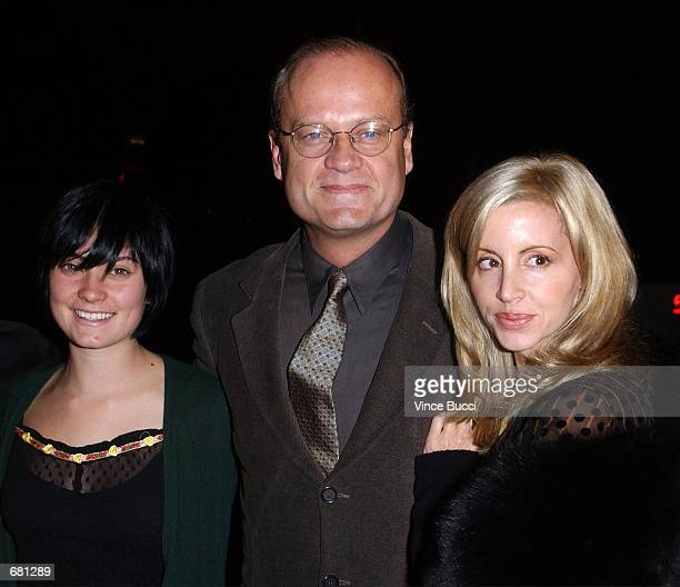 Actor Kelsey Grammer , daughter Spencer Grammer and wife Camille arrive to a celebration in honor of 200 episodes of the popular television series...