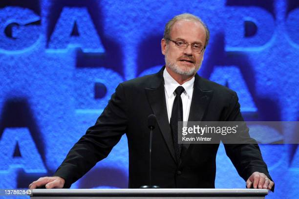 Actor Kelsey Grammer onstage during the 64th Annual Directors Guild Of America Awards held at the Grand Ballroom at Hollywood Highland on January 28...