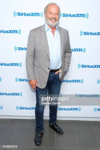 Actor Kelsey Grammer visits the SiriusXM Studios on August 8 2018 in New York City