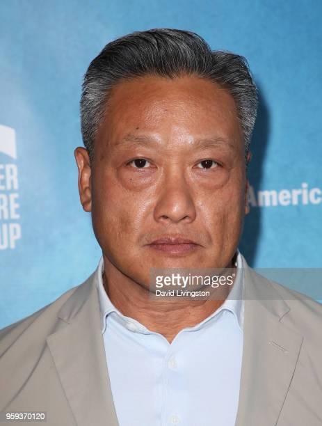 Actor Kelvin Han Yee attends the opening night of 'Soft Power' presented by the Center Theatre Group at the Ahmanson Theatre on May 16 2018 in Los...
