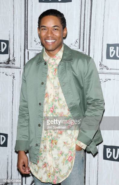 Actor Kelvin Harrison Jr attends the Build Series to discuss Monsters and Men at Build Studio on September 25 2018 in New York City