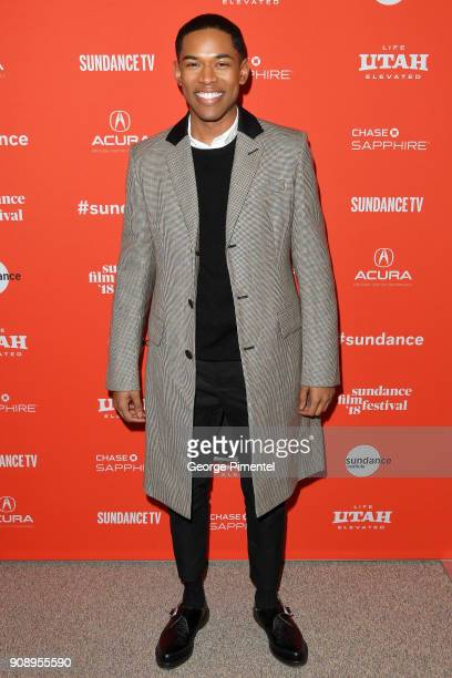 Actor Kelvin Harrison Jr attends the Monster Premiere during the 2018 Sundance Film Festival at Eccles Center Theatre on January 22 2018 in Park City...
