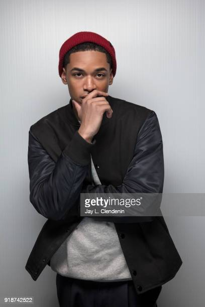 Actor Kelvin Harrison Jr from the film 'Monster' is photographed for Los Angeles Times on January 21 2018 in the LA Times Studio at Chase Sapphire on...