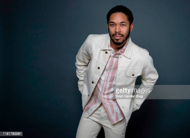 Actor Kelvin Harrison Jr is photographed for Los Angeles Times on August 1 2019 in El Segundo California PUBLISHED IMAGE CREDIT MUST READ Brian van...