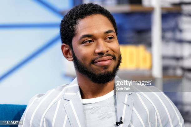 Actor Kelvin Harrison Jr visit's 'The IMDb Show' on October 28 2019 in Studio City California This episode of 'The IMDb Show' airs on November 14 2019