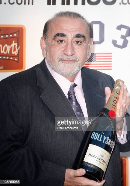 Actor Ken Davitian arrives at the 6th annual HollyShorts film festival opening night celebration at Laemmle Sunset 5 Theatre on August 5, 2010 in...