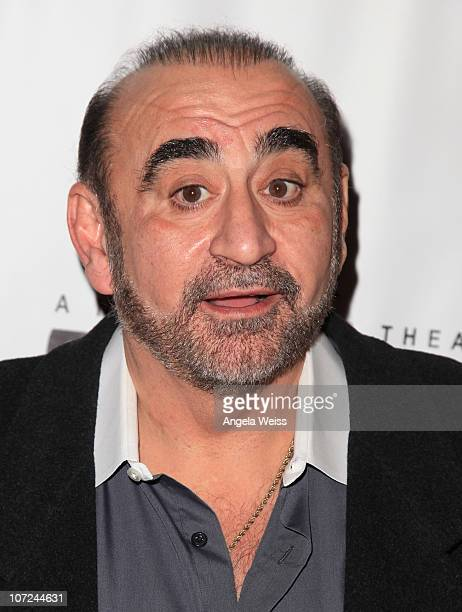 Actor Ken Davitian attends the opening night of 'West Side Story' at the Pantages Theatre on December 1 2010 in Hollywood California