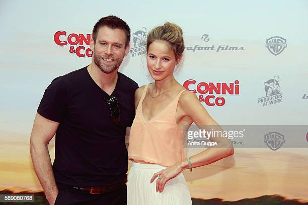 Actor Ken Duken and actress Lisa Bitter attend the 'Conni Co' Berlin premiere on August 13 2016 in Berlin Germany