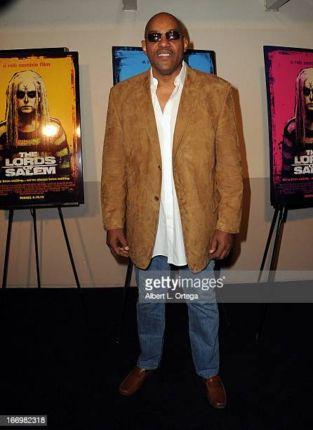 Actor Ken Foree arrives for Fan Screening Of Anchor Bay Films' Rob Zombie's 'The Lords Of Salem' Arrivalsheld at AMC Burbank 16 on April 18 2013 in...