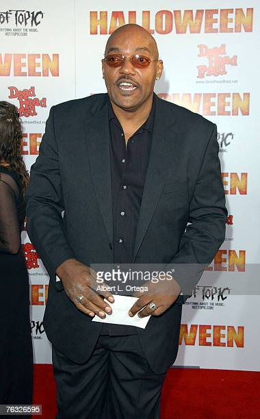Actor Ken Foree attends the world premiere of Rob Zombie's 'Halloween' at Grauman's Chinese Theater in Hollywood California