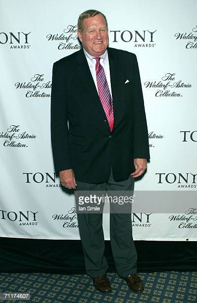 Actor Ken Howard attends The Tony Awards Honor Presenters And Nominees at the Waldorf Astoria on June 10 2006 in New York