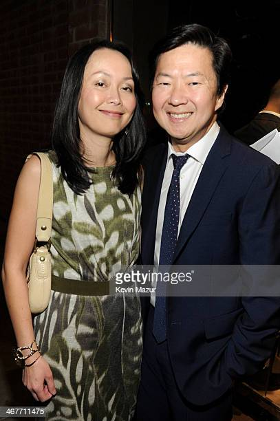 Actor Ken Jeong and wife Dr Tran Jeong attend Hollywood Stands Up To Cancer Event with contributors American Cancer Society and Bristol Myers Squibb...