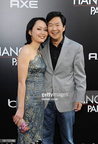 Actor Ken Jeong and wife Tran Ho attend The Hangover II Premiere sponsored by AXE Excite at Grauman's Chinese Theatre on May 19 2011 in Hollywood...
