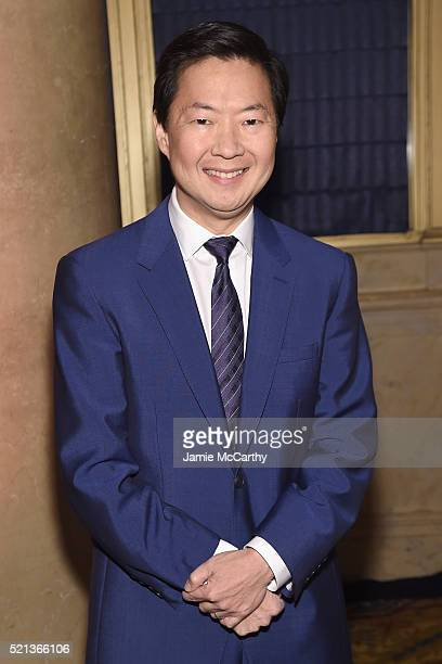 Actor Ken Jeong attends Stand Up To Cancer's New York Standing Room Only presented by Entertainment Industry Foundation with donors American Airlines...
