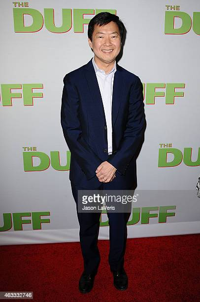 Actor Ken Jeong attends the premiere of The Duff at TCL Chinese 6 Theatres on February 12 2015 in Hollywood California