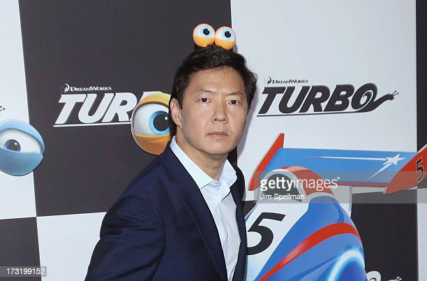 Actor Ken Jeong attends the 'Turbo' New York Premiere at AMC Loews Lincoln Square on July 9 2013 in New York City