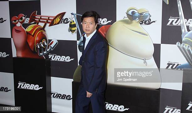 """Actor Ken Jeong attends the """"Turbo"""" New York Premiere at AMC Loews Lincoln Square on July 9, 2013 in New York City."""