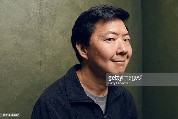 Actor Ken Jeong of Advantageous pose for a portrait at the Village at the Lift Presented by McDonald's McCafe during the 2015 Sundance Film Festival...